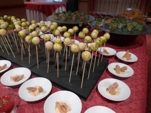 Pirulí de foie a l'Oporto i festucs