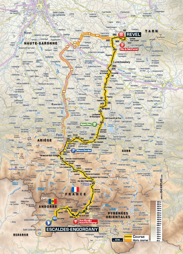 Etapa Andorra - Revel